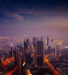 Dubai during Sunrise