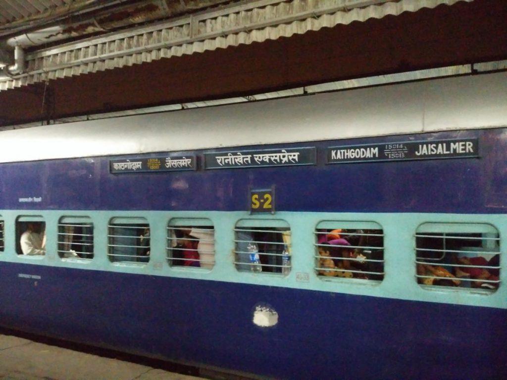 Ranikhet express from Jaisalmer