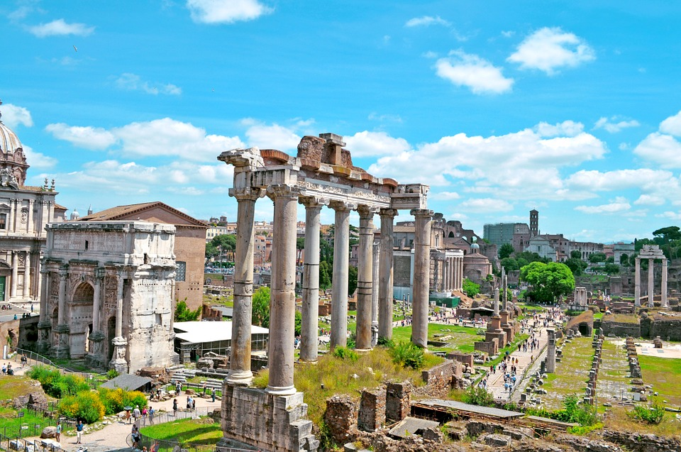 Roman Forum in the day