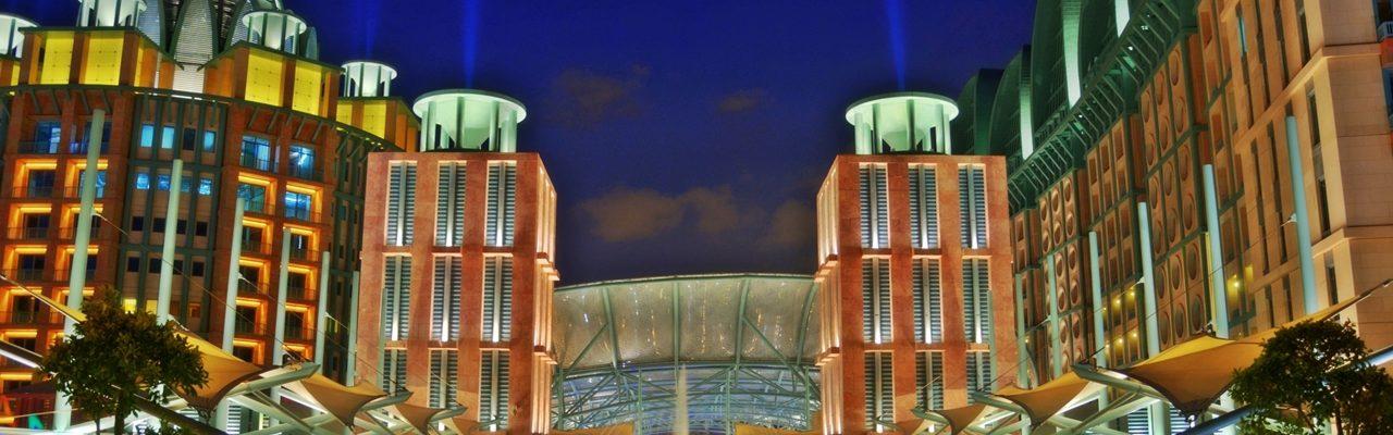 Resorts World Sentosa during Night