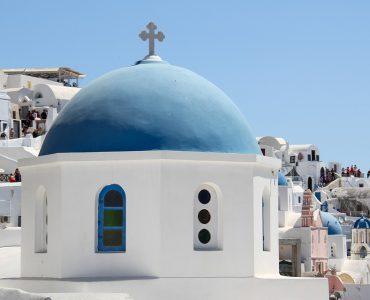 Santorini Oia Church View