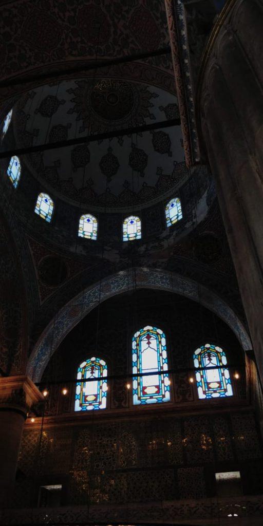 Interior of the biue mosque