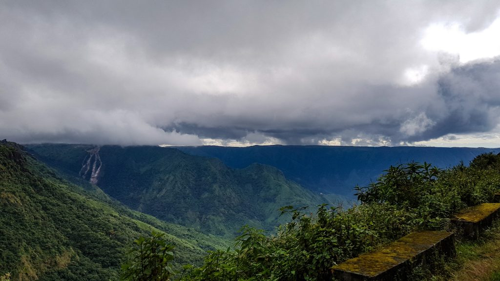 The rolling Khasi hills near Shillong