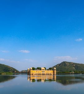 A lake in Rajasthan