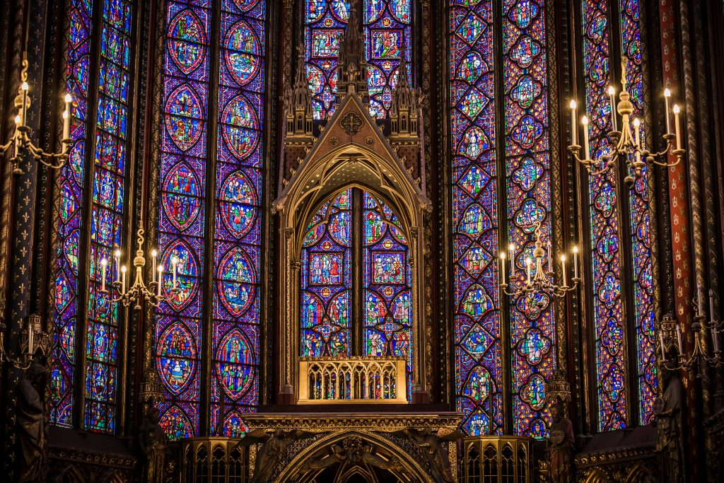 Sainte Chapelle interiors