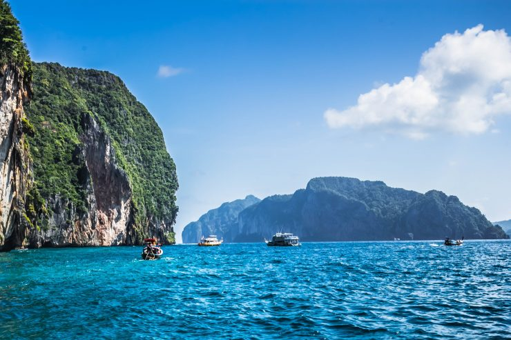 The beautiful islands in Phuket