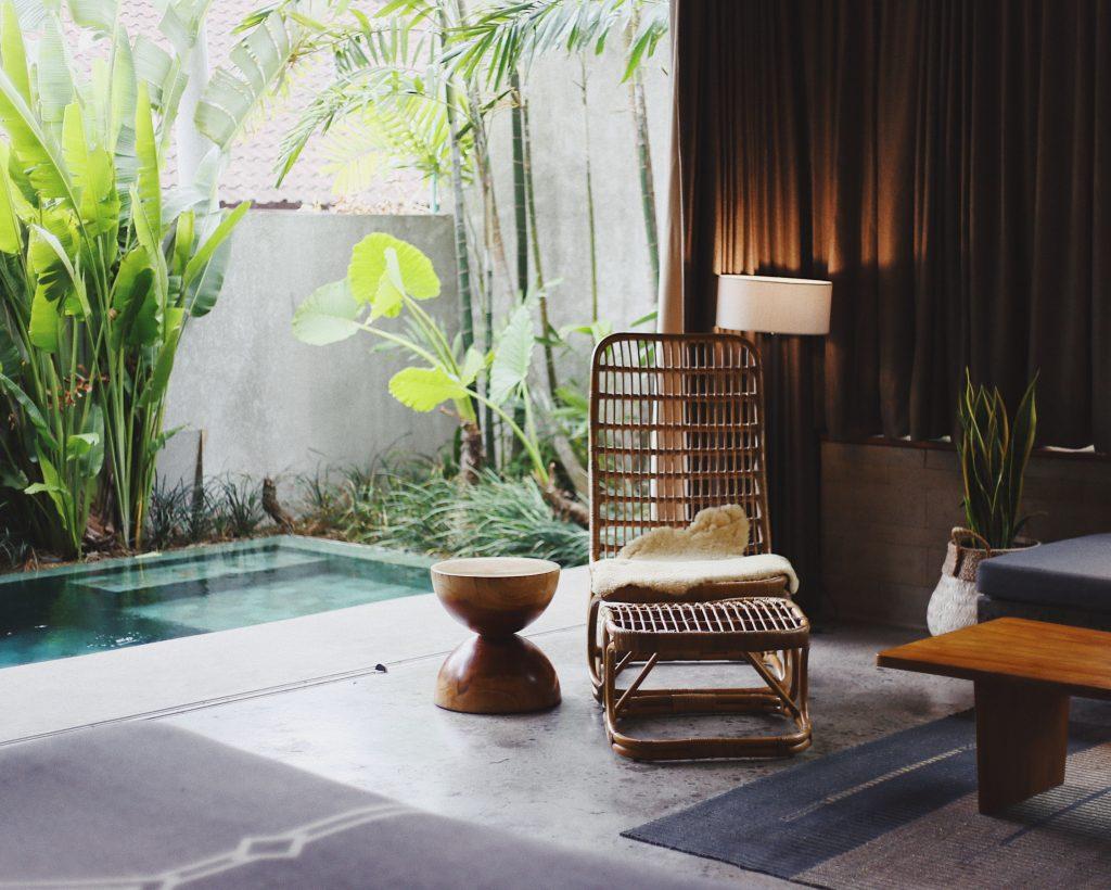 Private pool villa in Bali