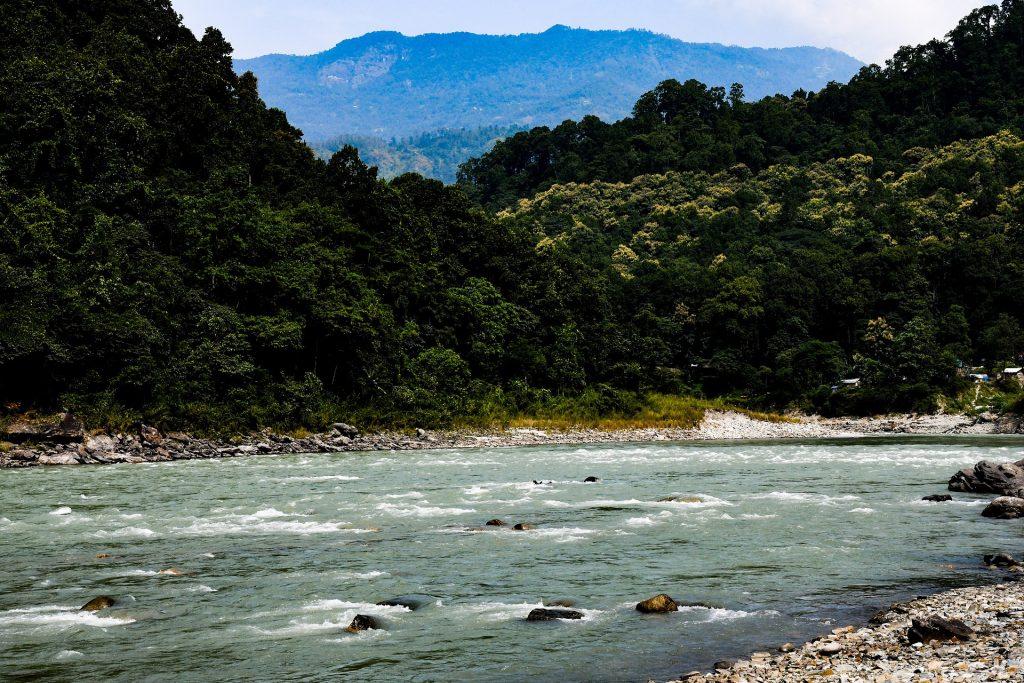 Teesta River in Gangtok