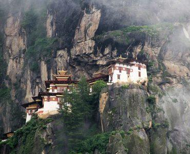 Tigers nest monastery in Bhutan