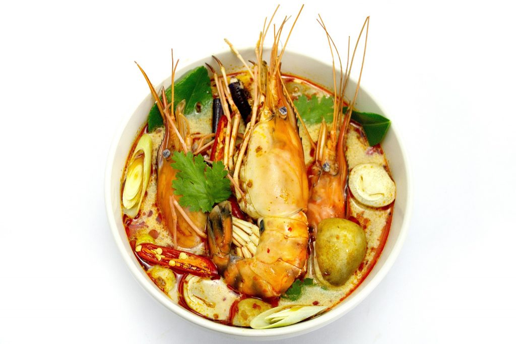 Tom Yum Goong best dish to eat in thailand