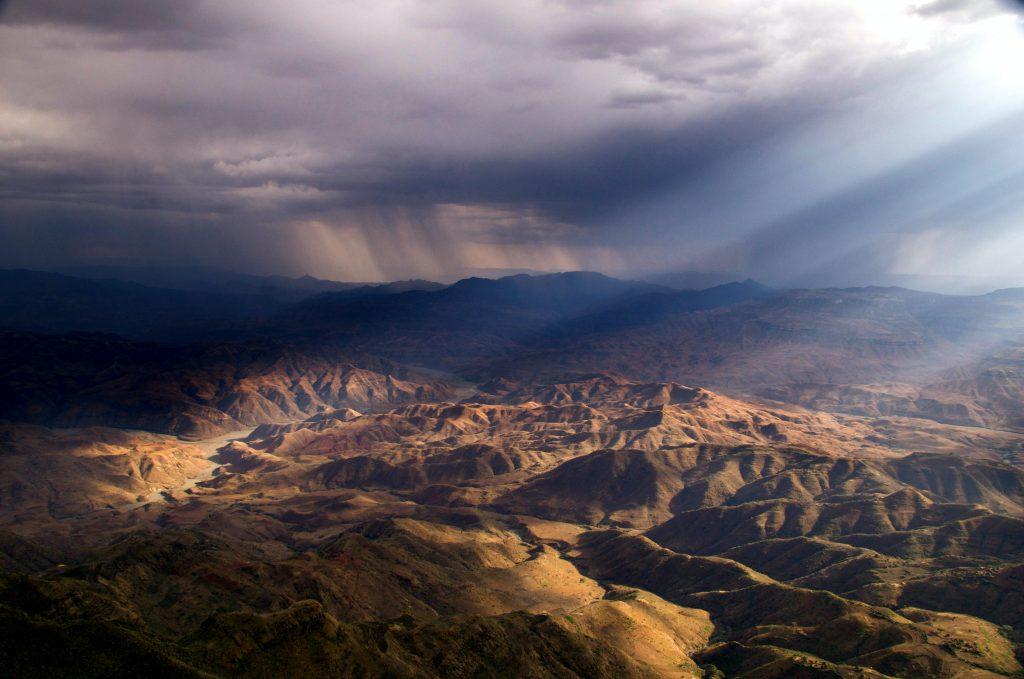 Lalibela mountains