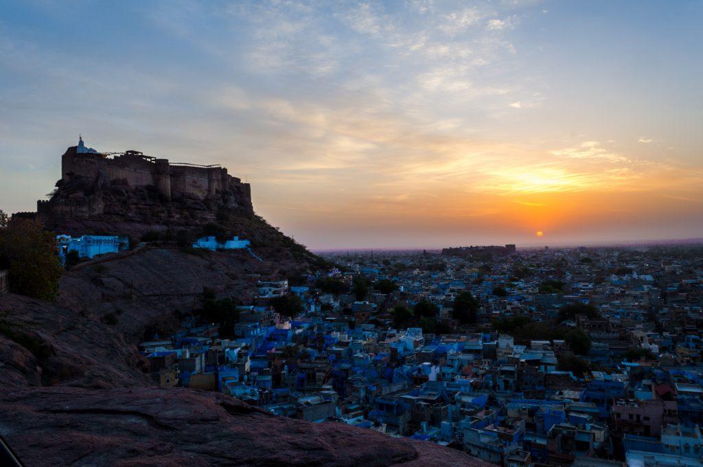 Blue city of Jodhpur