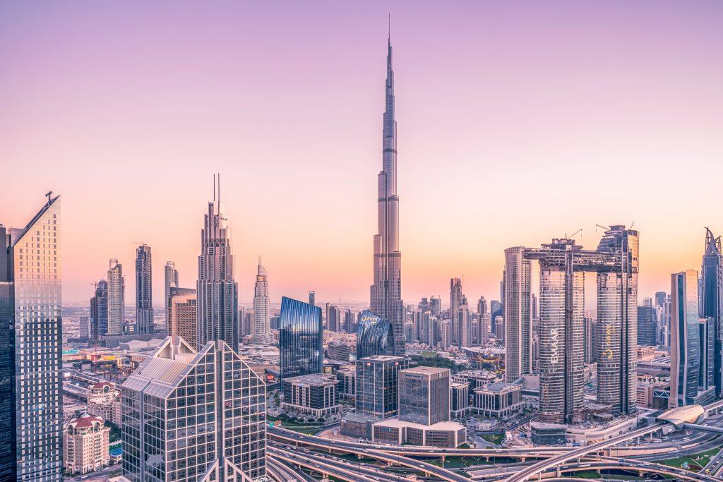 Burj Khalifa and Dubai skyline
