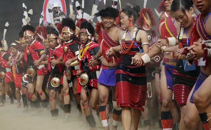 Hornbill festival, Kisama Heritage Village