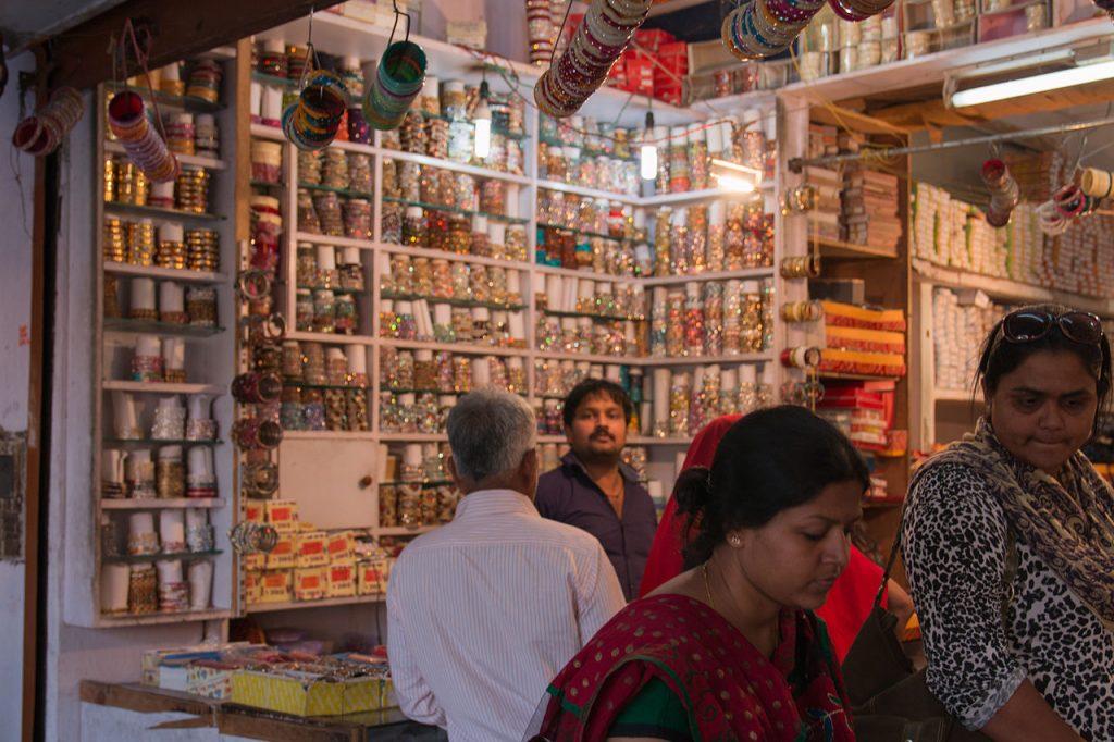 Bracelets in Bapu Bazar