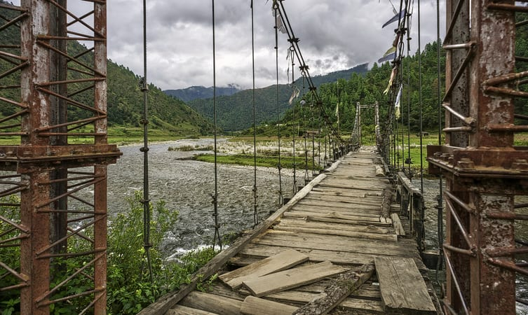 Sangti Valley Bridge