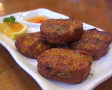Fish cake, famous food in Andaman