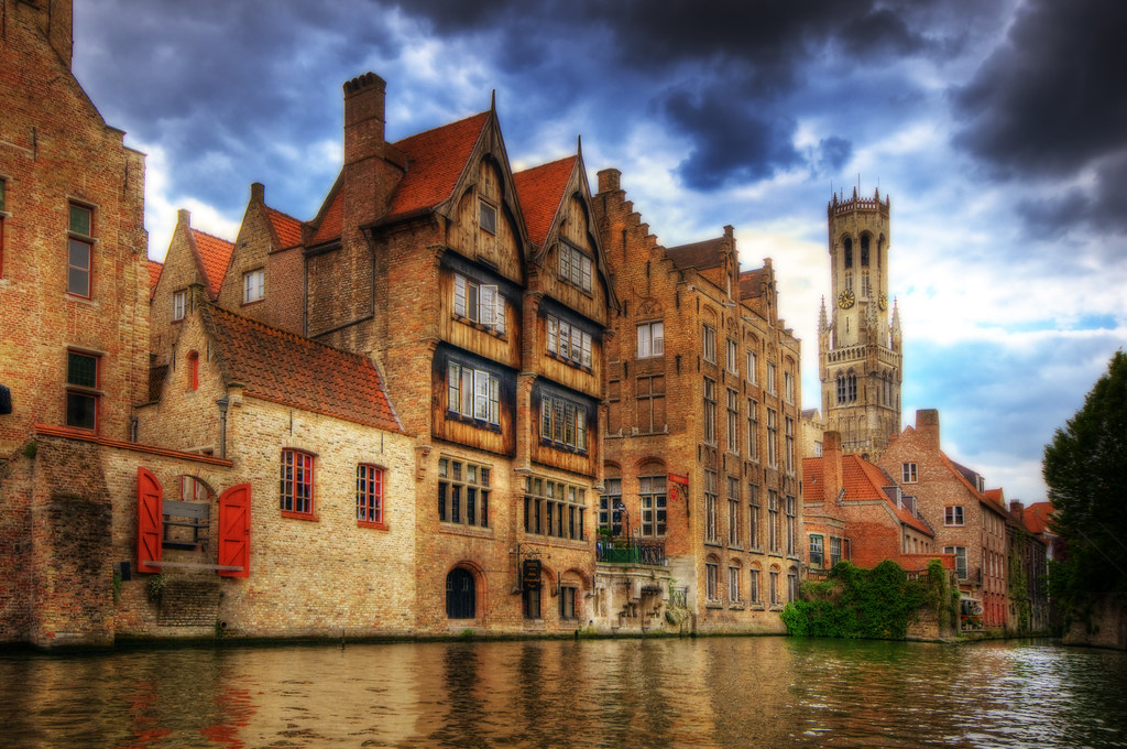 Canals in belgium