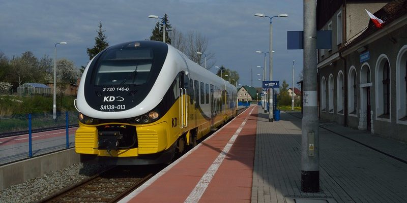 scenic line in Lower Silesia in southern Poland is that from Kłodzko to the spa town of Kudowa-Zdrój