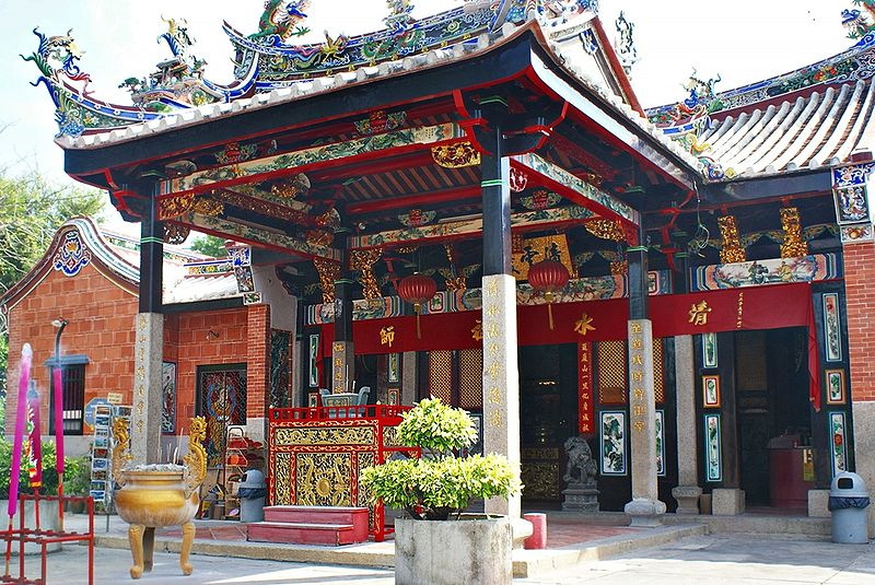 Snake Temple in Penang, Malaysia