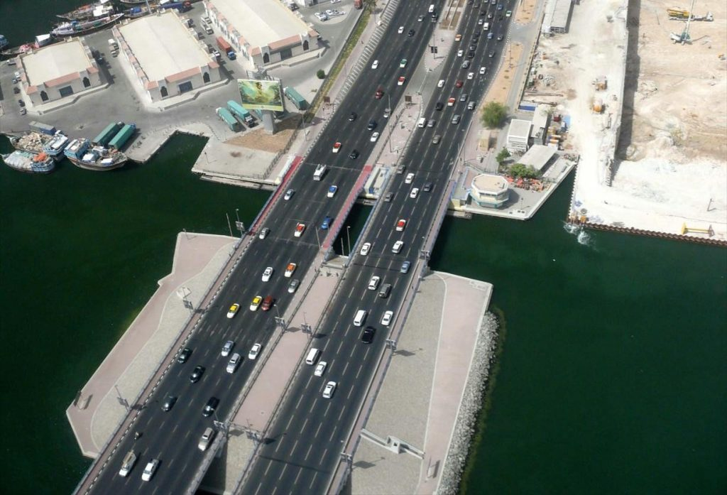 Al Maktoum Bridge in Dubai