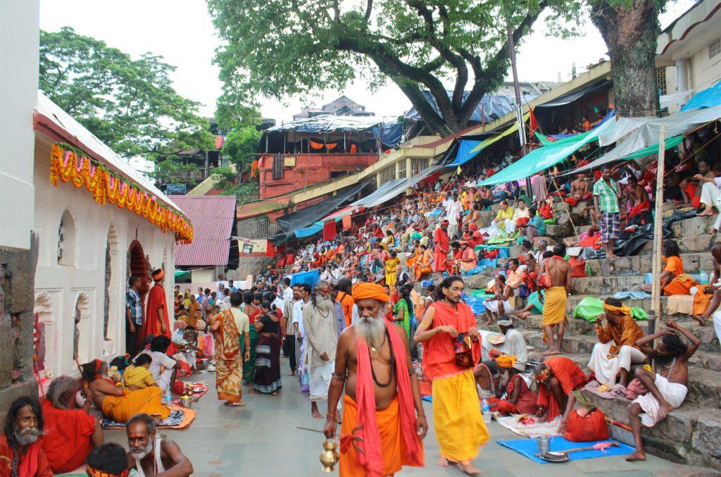 A picture of devotees in Ambubachi festival of assam