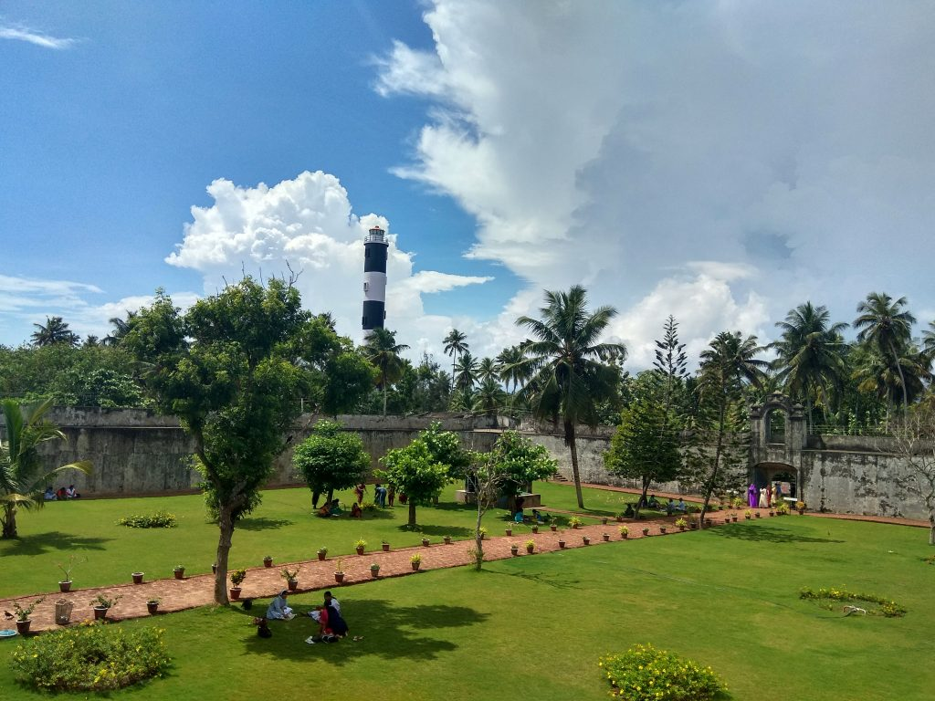 An amazing picture of Varkala Lighthouse