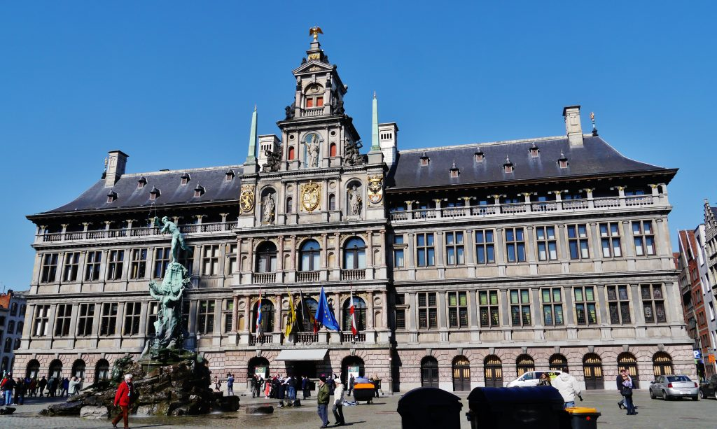 Grand palace (Grote markt), One of the best things to do in Antwerp.
