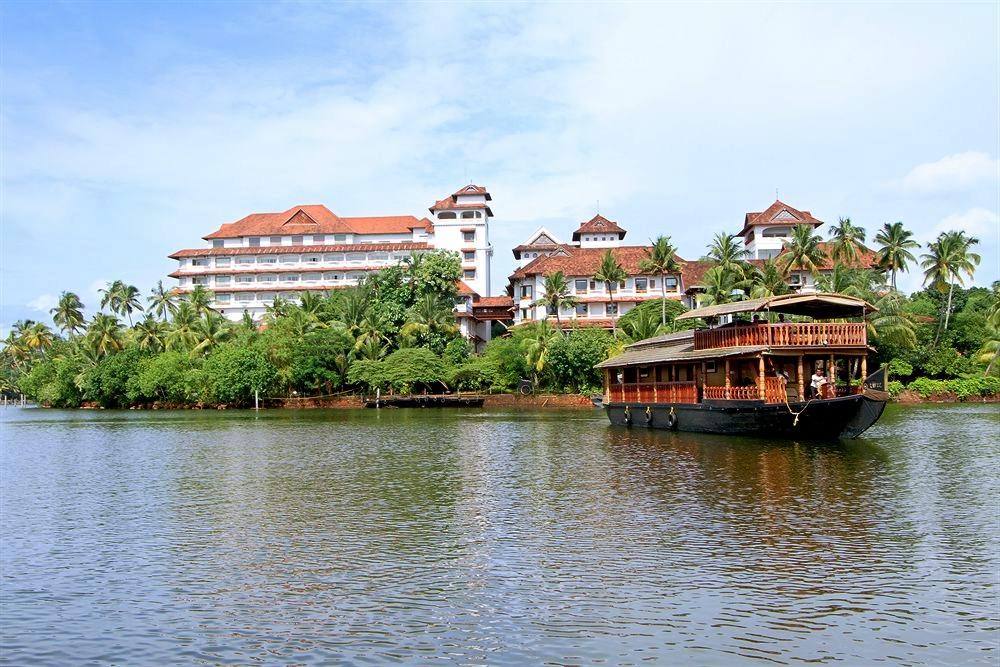 An amazing view of Ashtamudi Lake in Kerala
