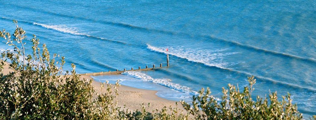 A beach in England