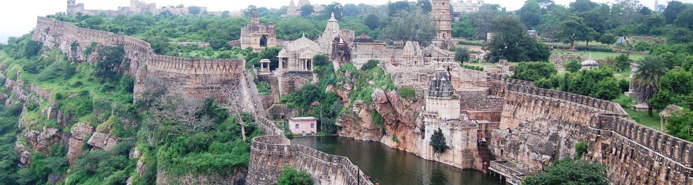 Chittorgarh Fort in Rajasthan