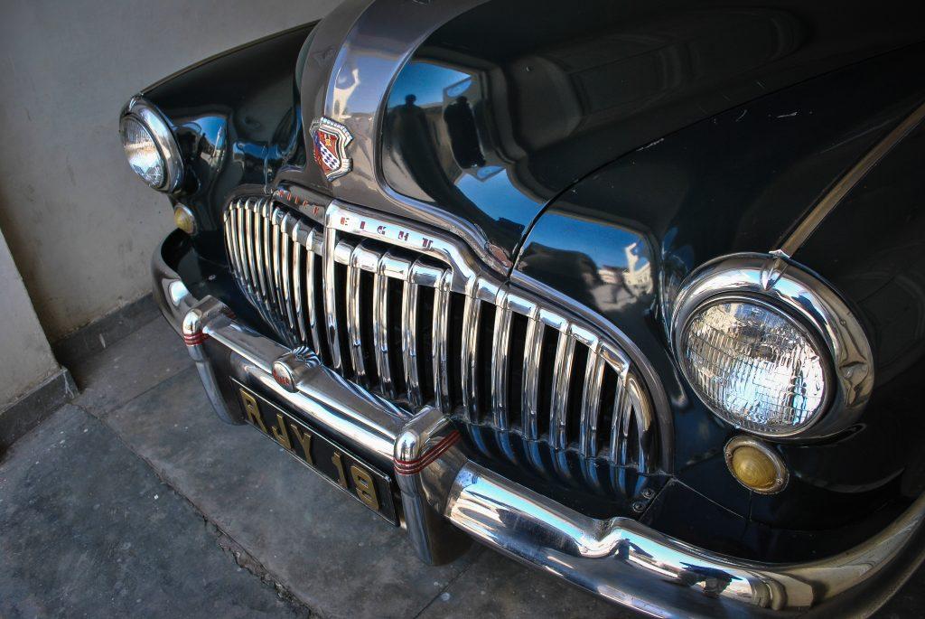 Buick Super 8 vintage classics car at the museum.