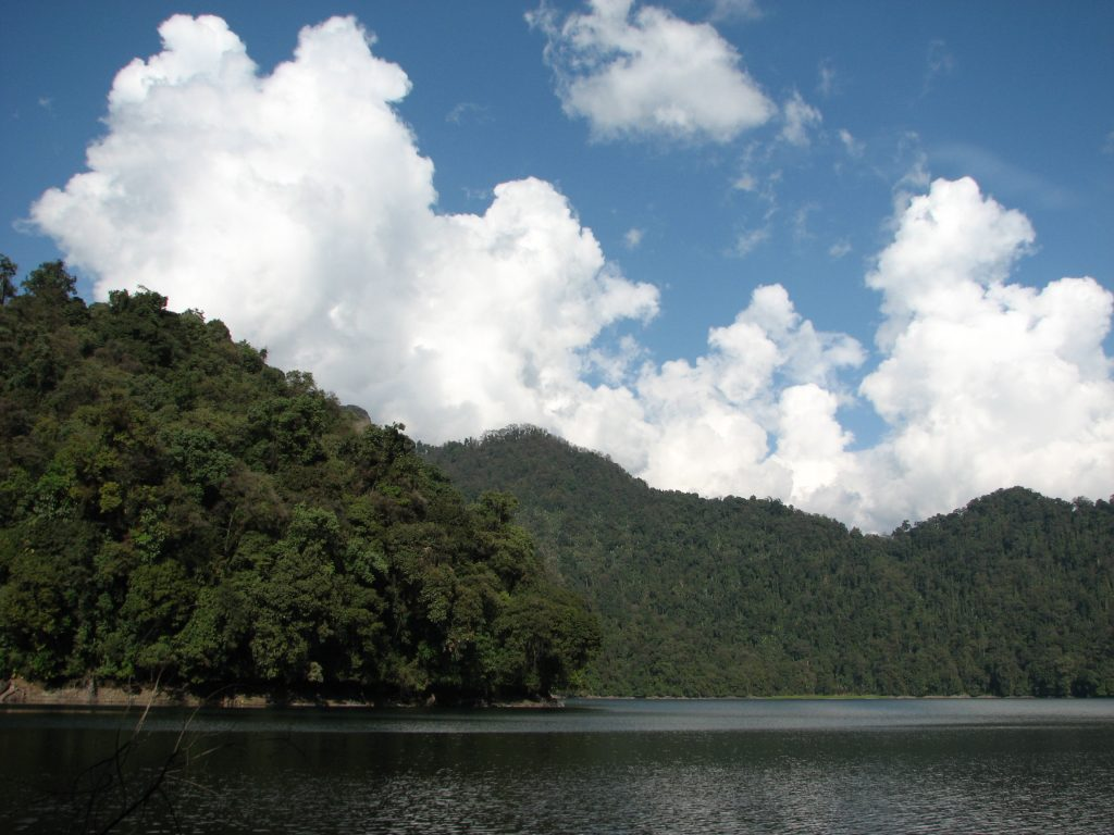 Mehao Lake near Mehao Wildlife Sanctuary, one of the national parks in Arunachal Pradesh