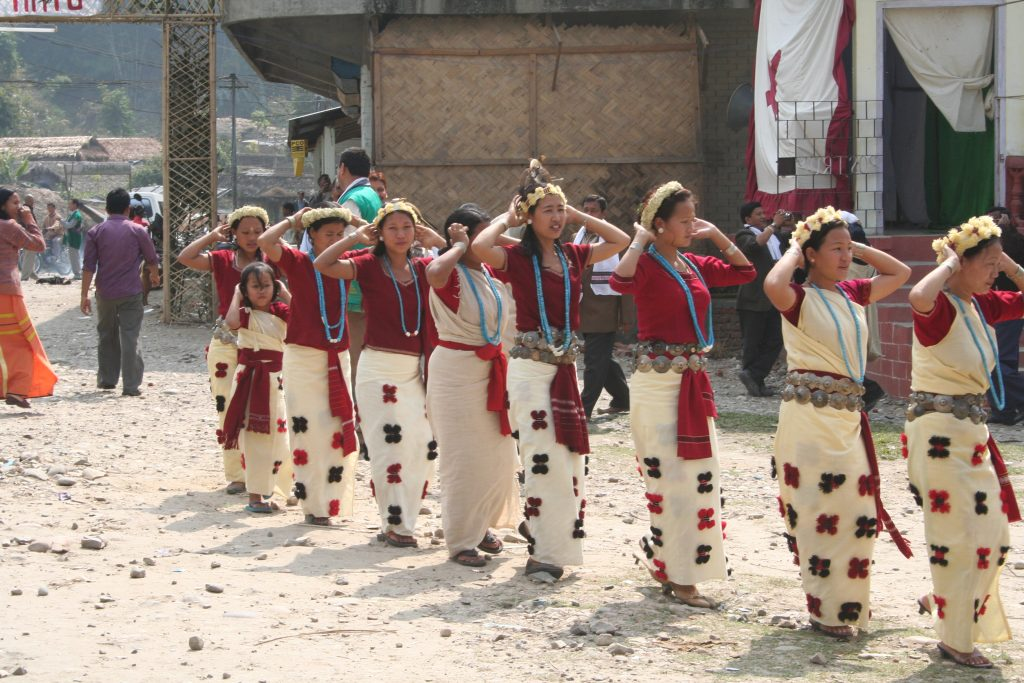Nyokum Festival celebrated in Arunachal Pradesh.