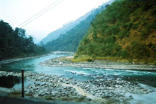 An amazing picture of River Teesta