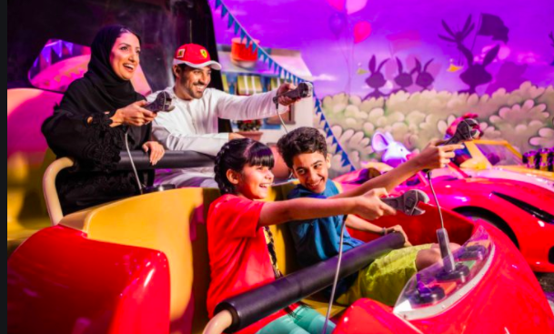 Kids activities in Ferrari World