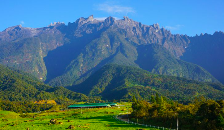 Crocker Range Park, Mount Kinabalu is part of Crocker Range