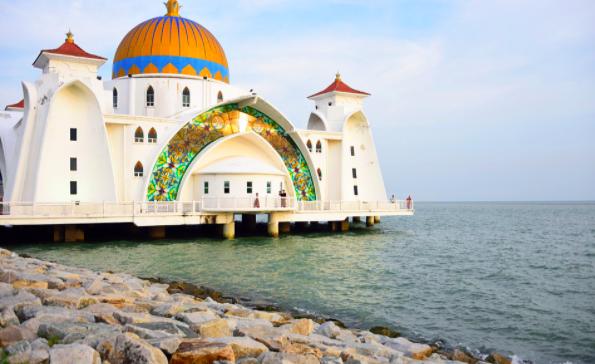 Grand mosque Malacca