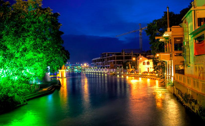 River Cruise at Malacca