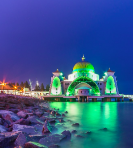 Grand Mosque in Malacca