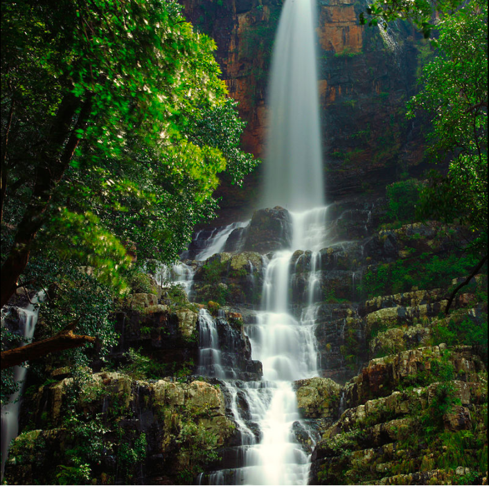 Waterfalls near by Kushalnagar