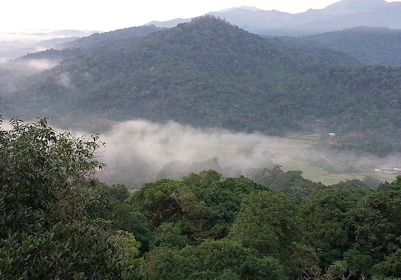 Talacauvery Mountain view