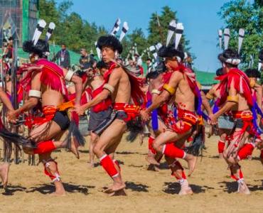 Naga folk dance