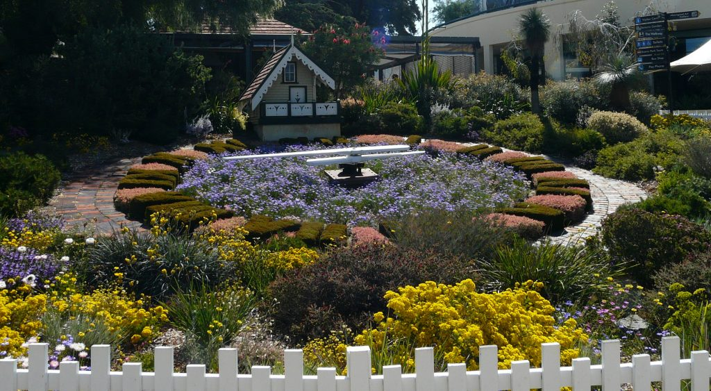 Floral Clock at the King's park, one of the best attractions in Perth