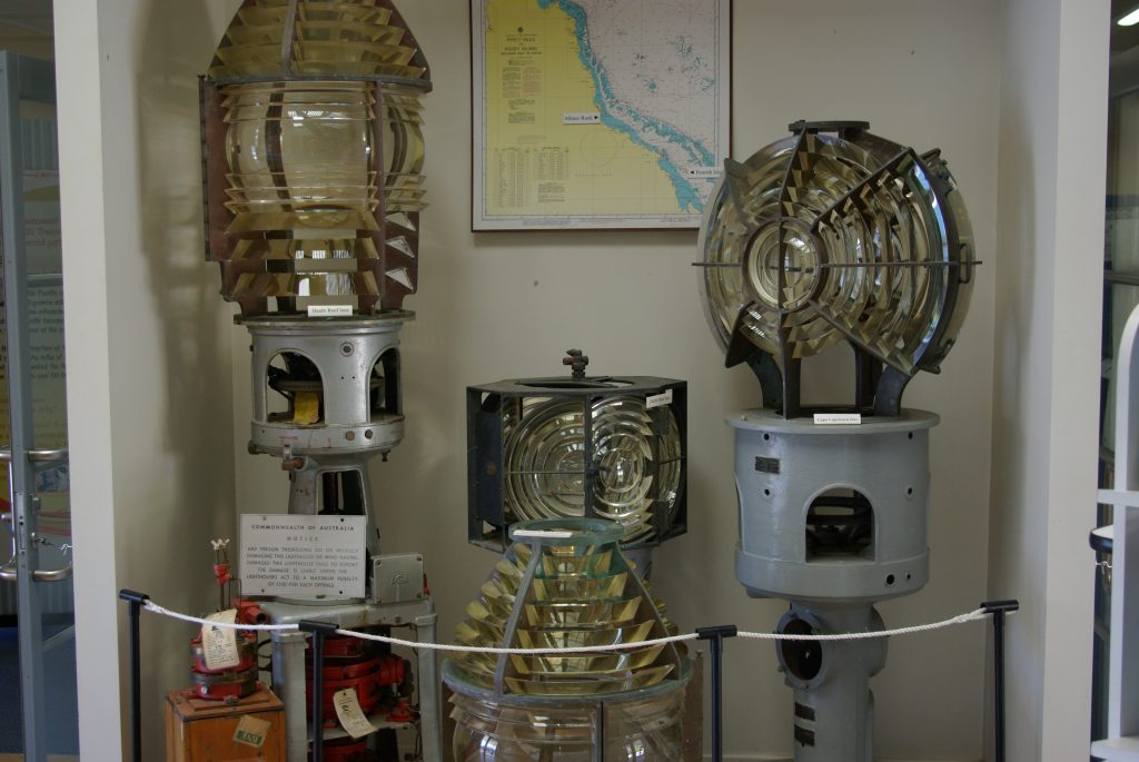 Fresnel Lenses from the Maritime Museum Of Townsville