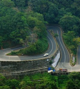 Curvy Hill roads of Wayanad