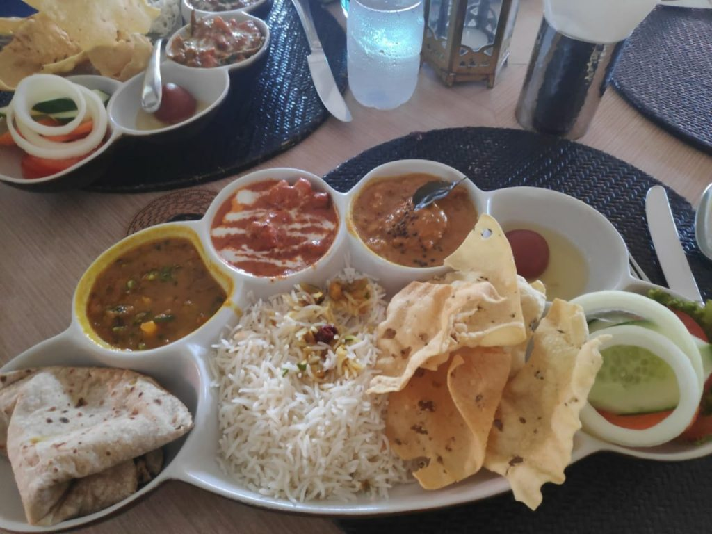 A picture of Indian Cuisine in Roti Chai