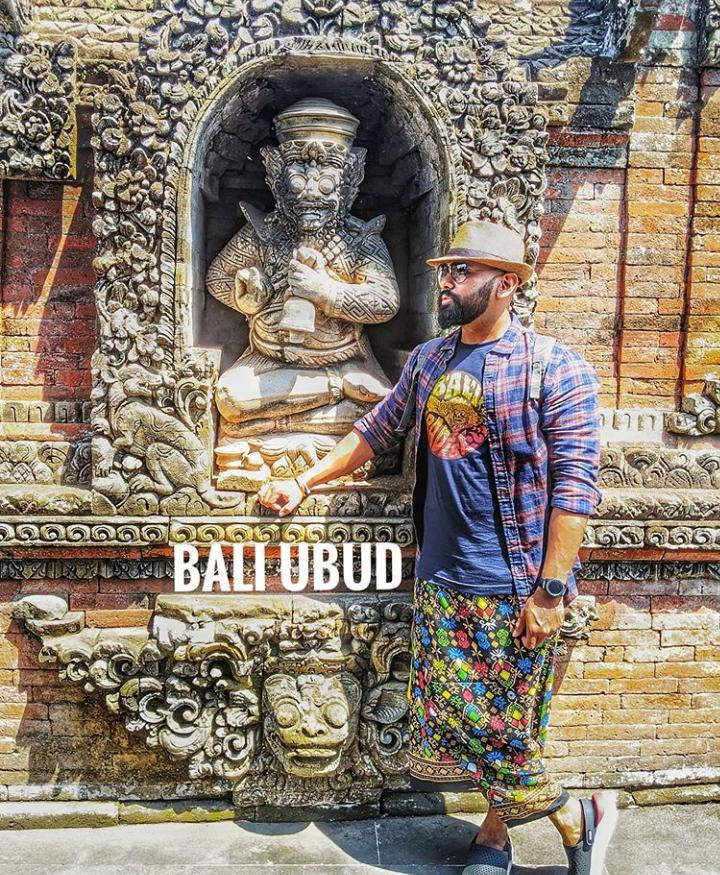 Posing like a pro in Ubud during our Bali vacation