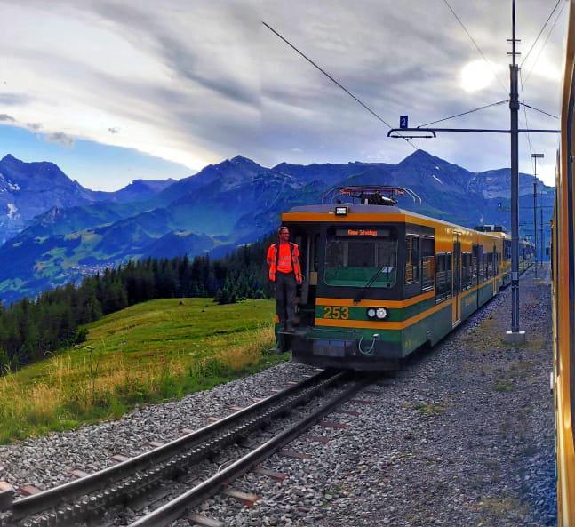 Amazing train journeys in Switzerland