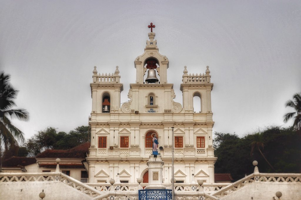The Church of Mae De Deus